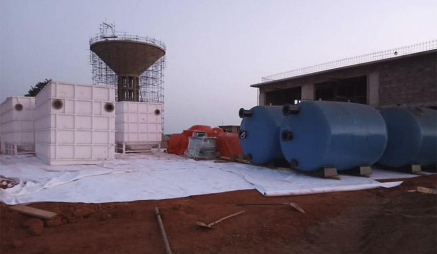 La Estación de Tratamiento de Agua ejecutada por Incatema Consulting llega a la localidad de Kédougou