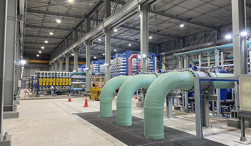 GS Inima construye la desalinizadora de Atacama en Chile