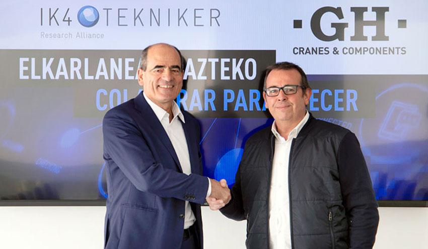 IK4-TEKNIKER Y GH refuerzan su colaboración tecnológica