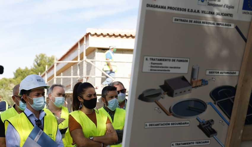 La reforma de la depuradora de Villena eliminará malos olores y proporcionará agua recuperada de calidad