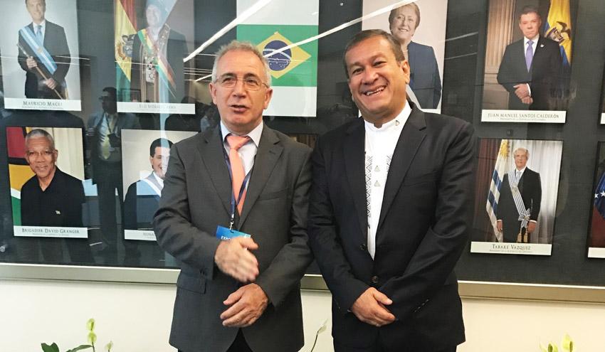 Global Omnium muestra en Ecuador sus soluciones para aumentar la eficiencia de la gestión hídrica