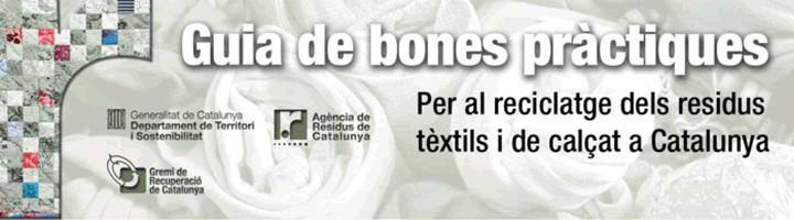 La ARC y el Gremi de la Recuperació de Catalunya presentan una guía de buenas prácticas para el reciclaje de los residuos textiles