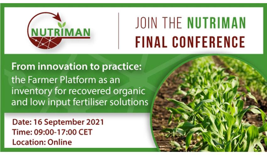El proyecto NUTRIMAN presenta sus resultados finales