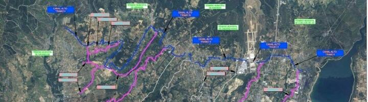 Finaliza la modernización de los regadíos del Canal Alto del Bierzo tras una inversión de 16,5 millones de euros