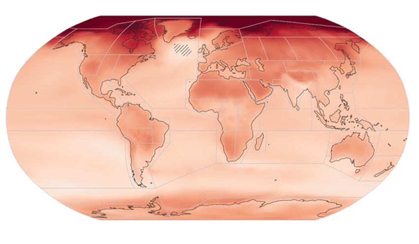 Un Atlas Interactivo del CSIC ofrece las proyecciones climáticas regionales del informe del IPCC