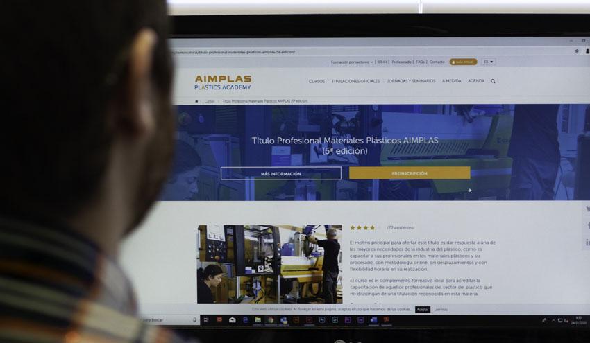 AIMPLAS Plastic Academy refuerza su oferta formativa online para el sector del plástico