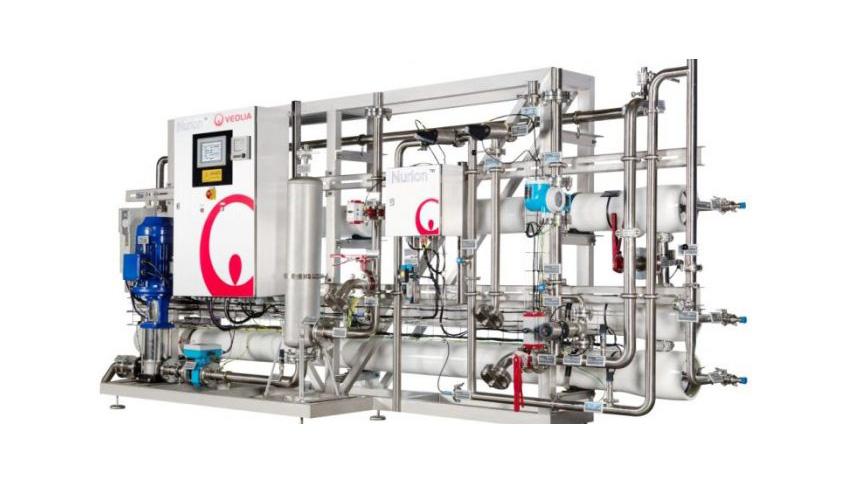 Veolia presenta NURION™, su nuevo sistema para producción de agua como ingrediente en la industria de alimentación