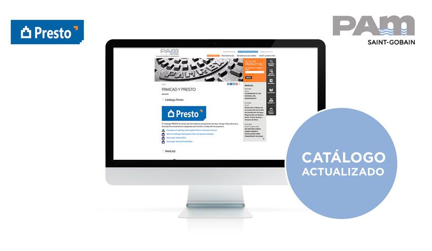 Saint-Gobain PAM actualiza su catálogo Presto