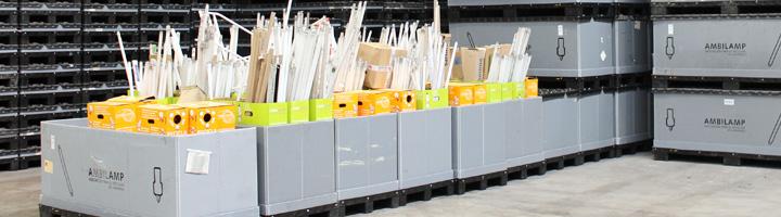 Ambilamp gestiona cerca de 16 millones de lámparas en 2013 evitando la emisión de 189.945 toneladas de CO2
