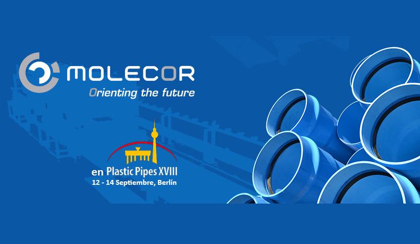 Molecor© presentará sus últimos e innovadores desarrollos en la conferencia Plastics Pipes XVIII