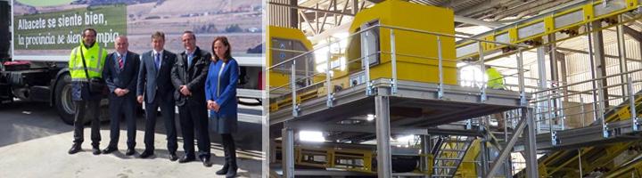 Presentadas las nuevas instalaciones del Centro de Tratamiento de Residuos de Albacete tras invertir 3,6 millones de euros