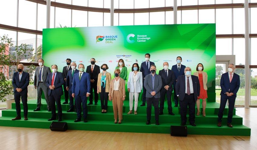 Gobierno Vasco y 14 empresas vascas se alían por el ecodiseño y la economía circular