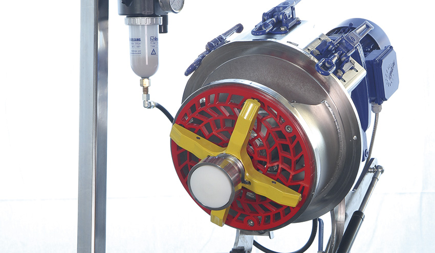 Protección efectiva de los equipos aguas abajo con RotaCut