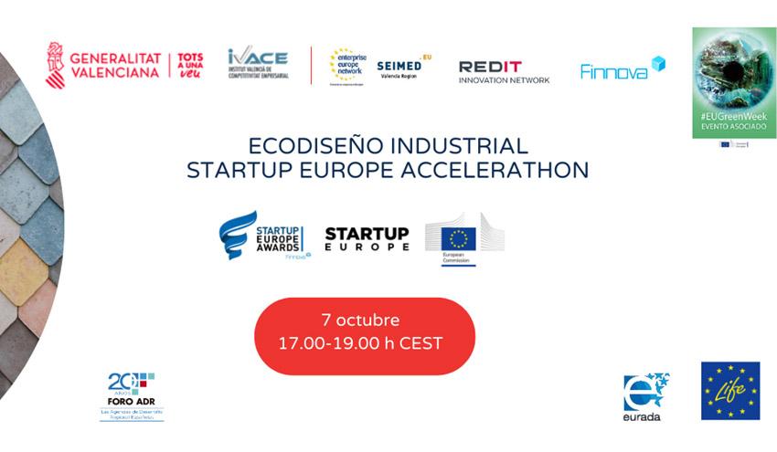 El Ecodiseño Industrial Startup Europe Accelerathon llega a la Green Week como modelo sostenible