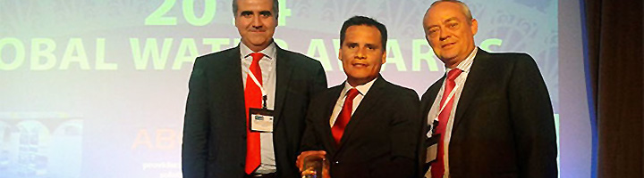 La PTAR de Taboada construida por Tedagua reconocida por la revista Global Water Intelligence como la mejor del año