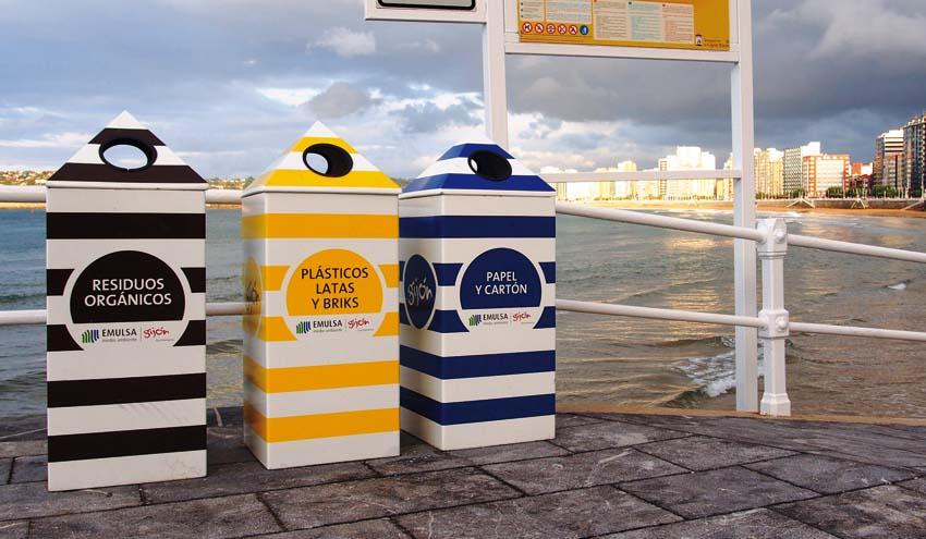 Sobrescobio, Oviedo y Gijón, los tres municipios con mejor tasa de reciclaje de Asturias