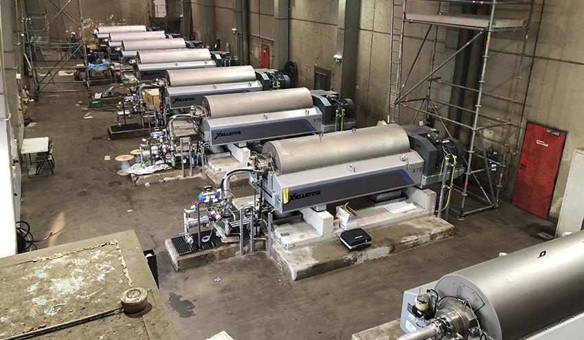 Flottweg suministra 12 centrífugas decanter Xelletor para Wien Energie