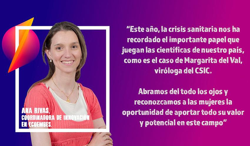Talento femenino en la nueva ciencia de la economía circular, apuesta de TheCircularLab