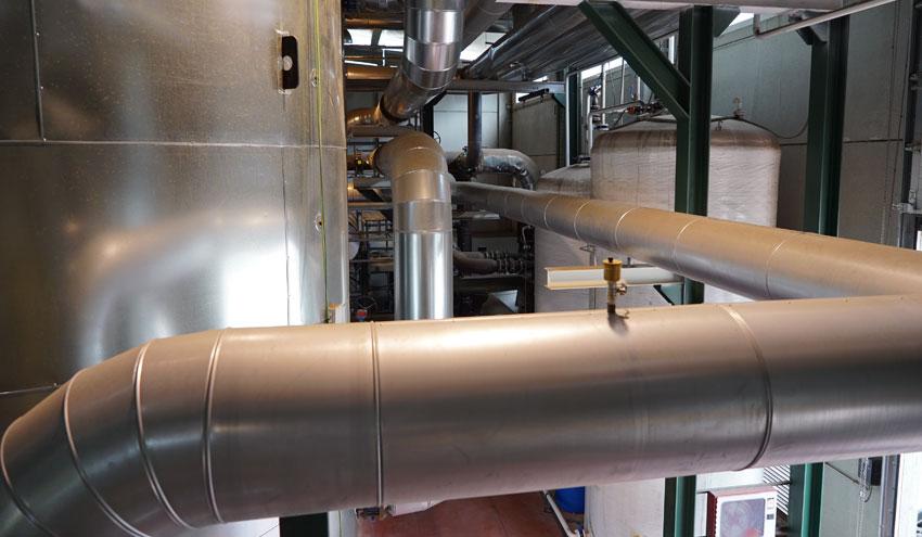 La Red de Calor con Biomasa de Soria suministra calefacción sin interrupciones durante los temporales