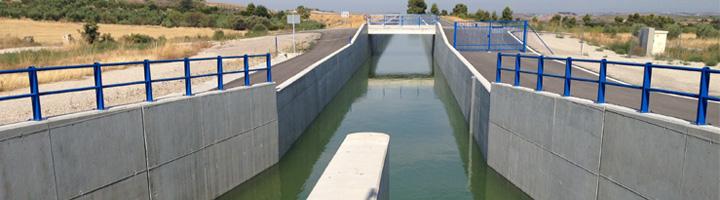Finalizadas las obras de conexión completa de la traza del Canal Segarra-Garrigues en todo su recorrido