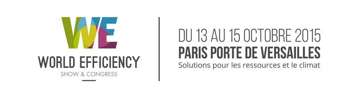 Del 13 al 15 de octubre en World Efficiency, los actores económicos toman la palabra