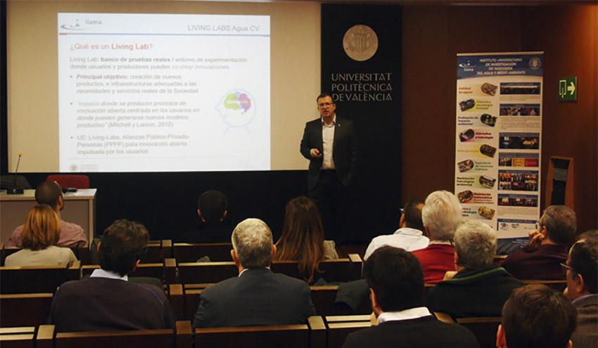 """Los Living Labs situarían a la Comunitat Valenciana a la vanguardia de la innovación en el sector del agua"""