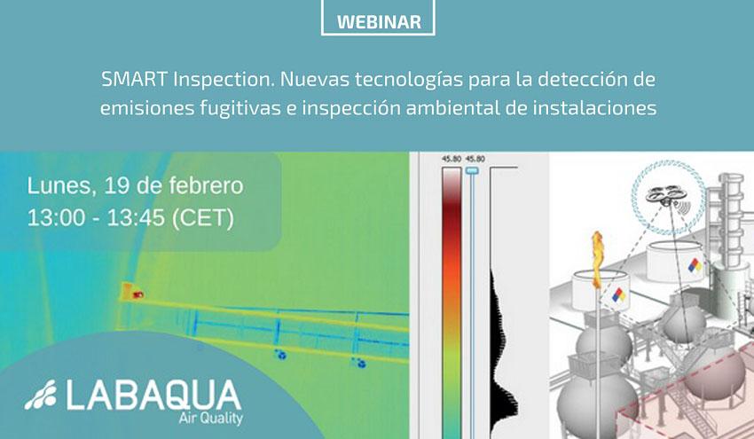 SMART Inspection: nuevas tecnologías para la detección de emisiones fugitivas en instalaciones