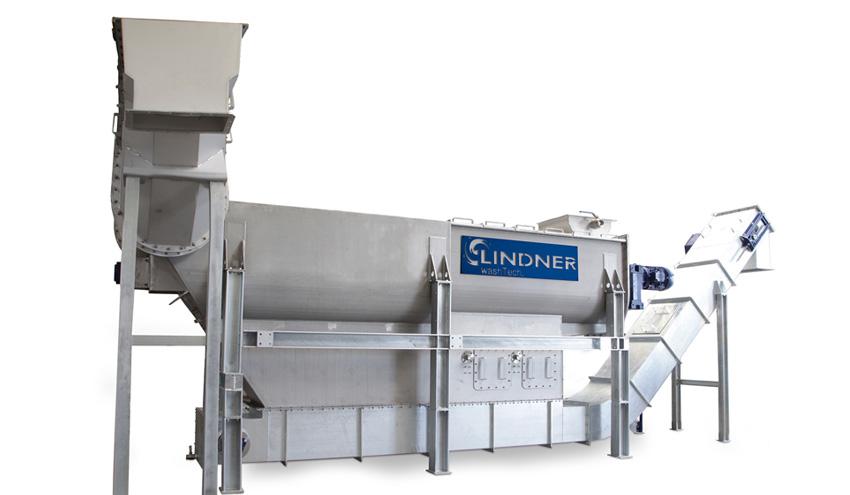 Lavado eficaz de plásticos post consumo contaminados, con el nuevo Rafter de Lindner washTech