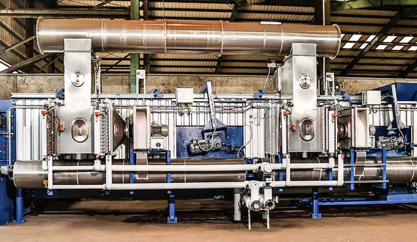 Optimizar el proceso de compostaje – pretratamiento de restos de digesto con el secador BRT HARTNER DCD