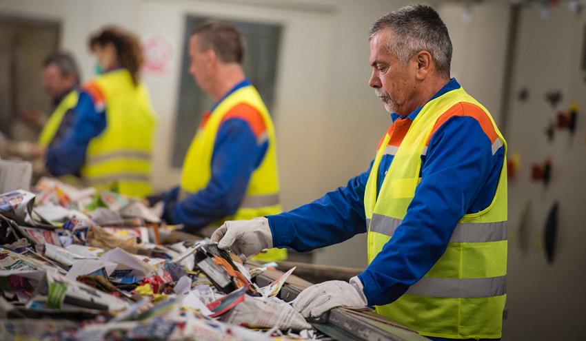 La industria recicladora de papel y cartón creará más de 1.000 empleos verdes en 2018