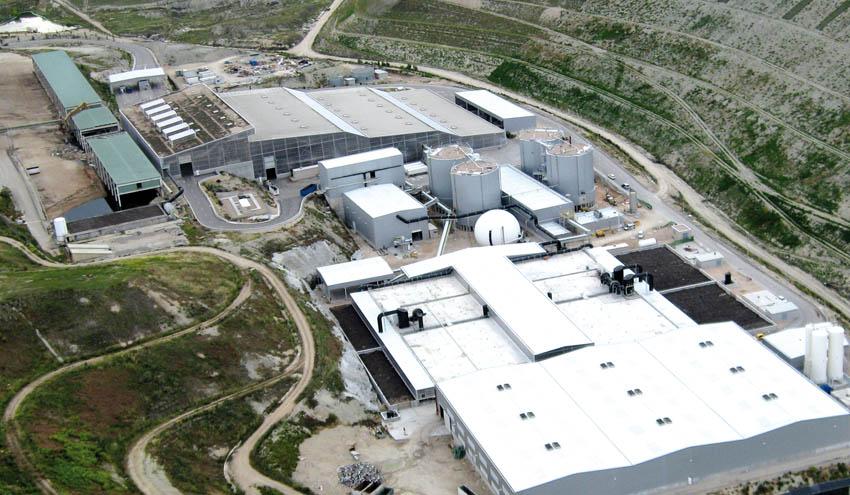Luz verde a la desodorización de la planta de tratamiento de residuos de La Paloma en Valdemingómez