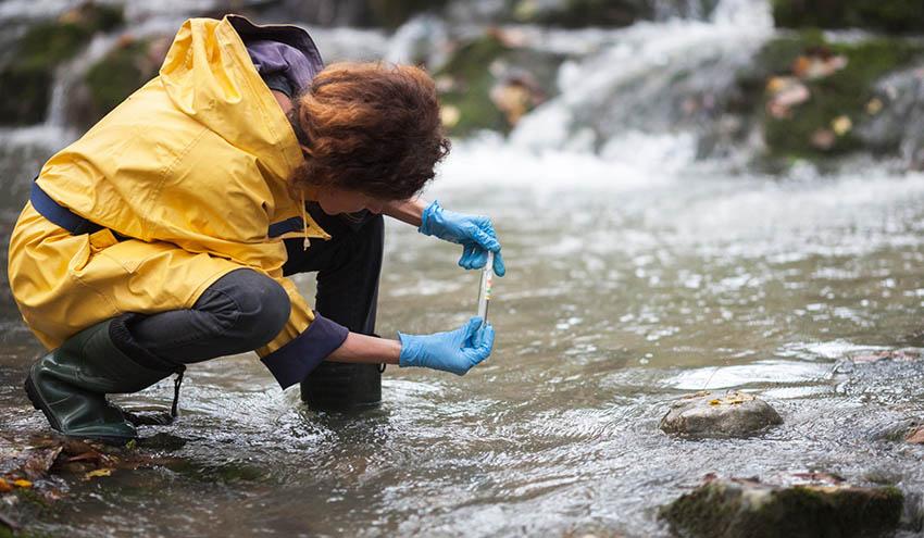 Un corcho magnético permite eliminar residuos acuáticos contaminantes