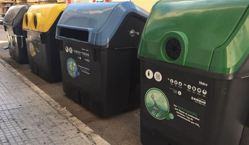 La recogida selectiva en Palma supera el 23% de los residuos recogidos en octubre