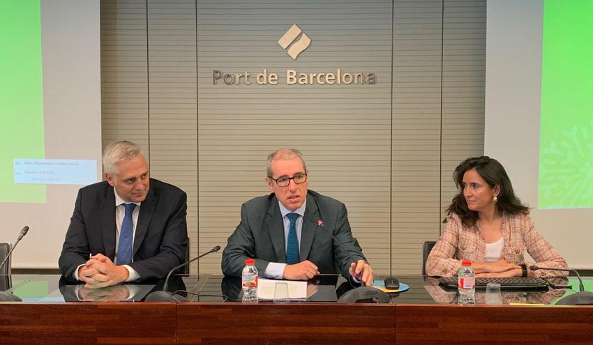 El Puerto de Barcelona acoge la asamblea general de Gasnam