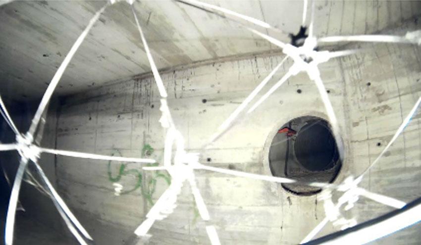 SUEZ Water Spain realiza las primeras inspecciones de espacios confinados con Galia Drone