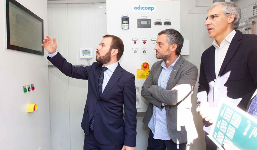 La Unidad Mixta de Gas Renovable comienza a generar biometano para movilidad urbana