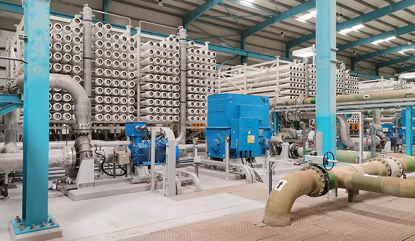 Abengoa Agua culmina la construcción de la desaladora de Salalah en Omán