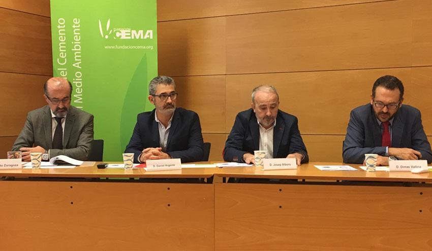La industria cementera española evita el vertido de 2,3 millones de toneladas de residuos cada año