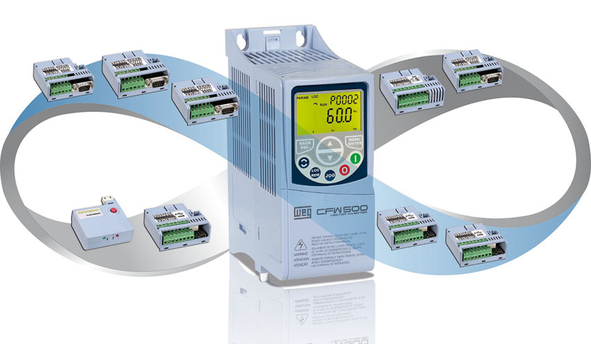 WEG amplía su gama de variadores de velocidad CFW500