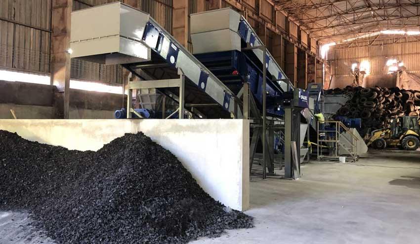 Nueva planta de tratamiento de neumáticos en Costa Rica