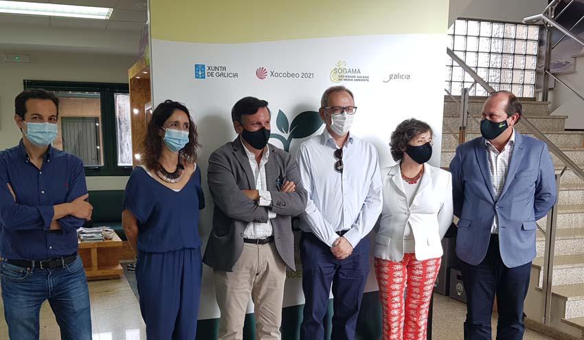 Una delegación del Gobierno Regional de Murcia visita el Complejo Medioambiental de SOGAMA