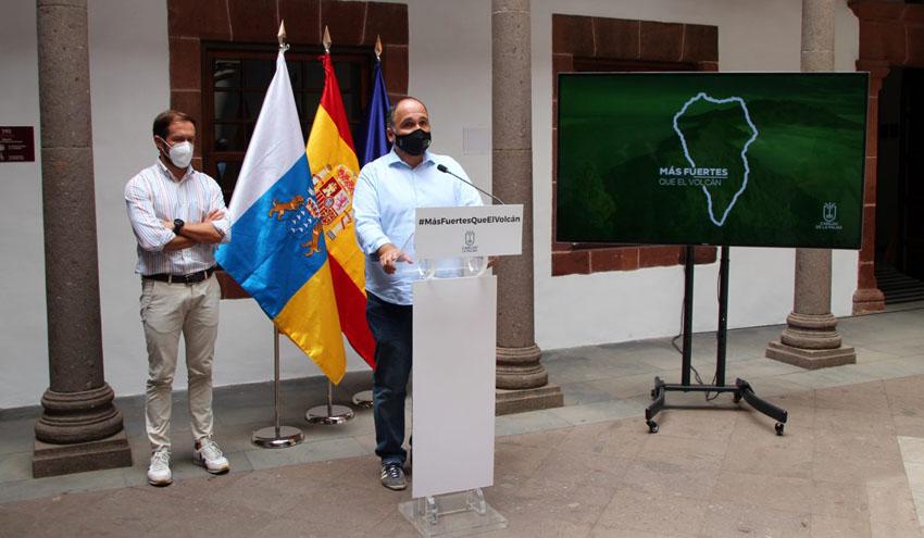 Dos desaladoras portátiles llegan a La Palma para apoyar el abastecimiento de agua de riego