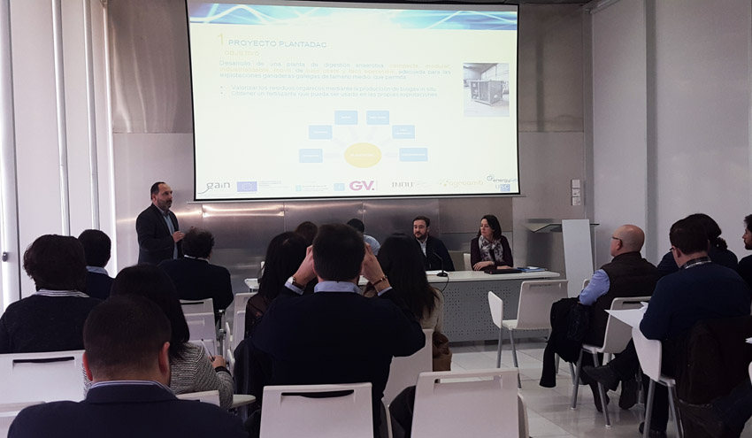Plantas de biogás compactas como solución de futuro en la gestión de los residuos ganaderos gallegos