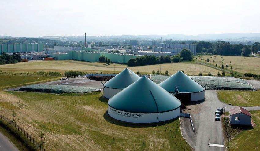 Vogelsang: innovaciones en el campo del biogás