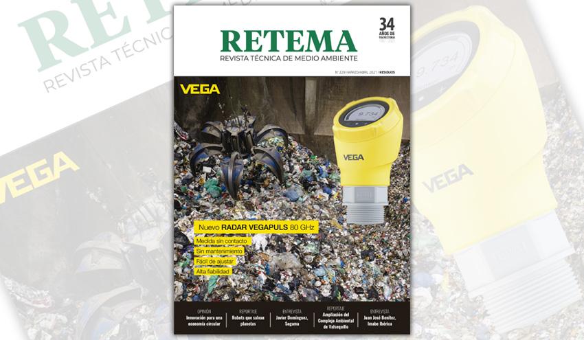 Ya disponible la edición digital de RETEMA 229 Marzo/Abril 2021