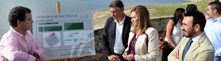 La Junta de Andalucía invertirá 1,3 millones de euros en la construcción de la nueva EDAR de Bornos