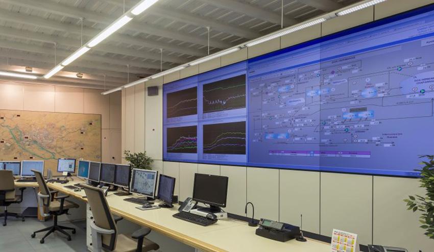 Emasesa opera con sus dos Centros de Control para extremar las normas de seguridad por el Covid-19
