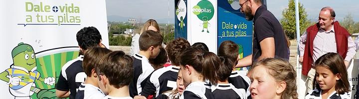 Ecopilas recoge 4.000 kilos de pilas usadas reforzando sus acciones en eventos deportivos