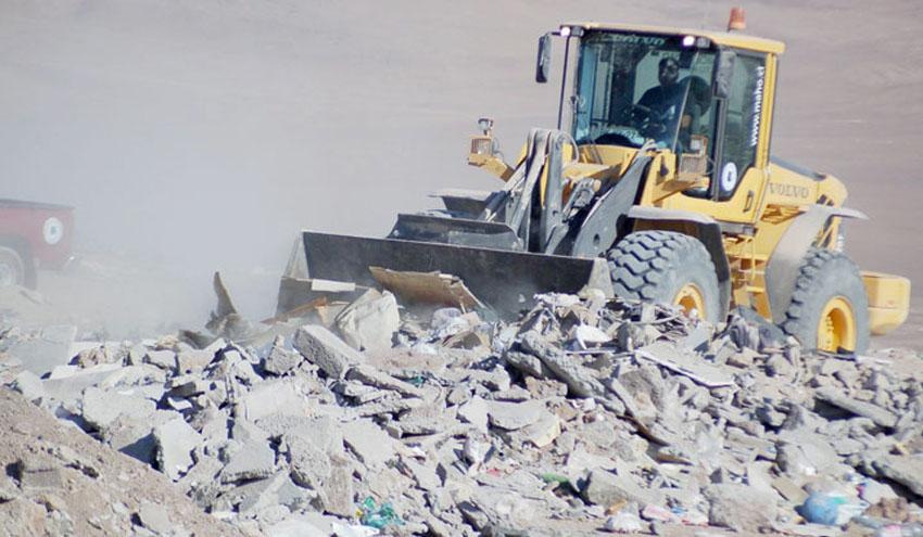 La ARC otorga 1,6 millones de euros a 77 entidades locales para la utilización de áridos reciclados