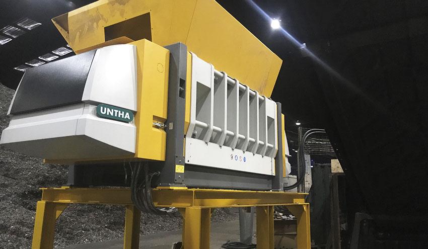 Lancashire Waste impulsa la capacidad de producción de CSR con nuevas trituradoras UNTHA